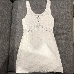 Free People White Mini Dress